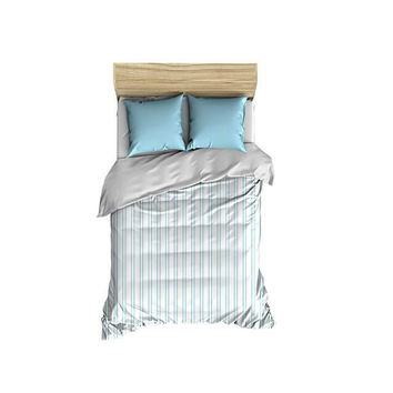 Vertical Stripes Pattern Small Comforter