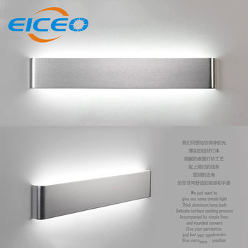 (Eiceo) Modern 36Cm 46Cm Minimalist Living Room Bedroom Hallway Aluminum Led Wall Lamp Mirror Front Lamps Creative Ac185-265V