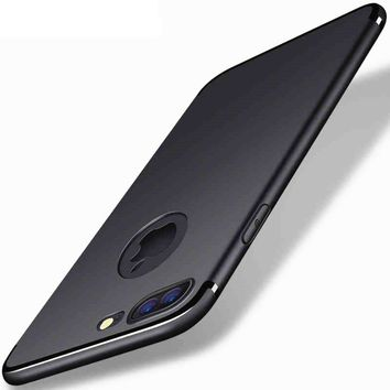 Slim Silicone Case For iPhone X 5 5s 6 6s Soft Shell case For i Phone 7 Plus Phone Cases Back Cover for 6 s fundas coque for 8