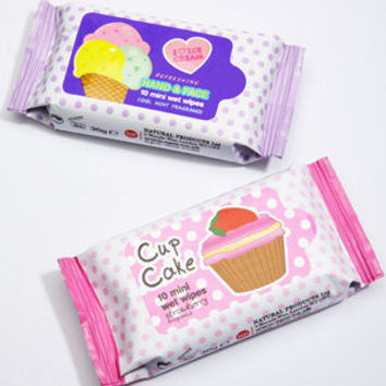 Sweet Treat Scented Handy Wipes