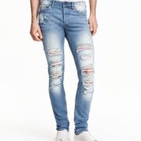 H&M Skinny Regular Trashed Jeans $29.99