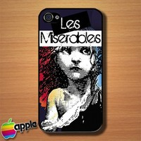 Les Miserables Musical Custom iPhone 4 or 4S Case Cover | Merchanstore - Accessories on ArtFire