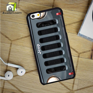 Jeep Wrangler iPhone 6 Case by Avallen
