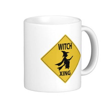 Witch Xing Classic White Coffee Mug