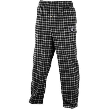 Oakland Raiders Big & Tall Fly Lounge Pants – Black