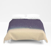 Star drops Duvet Cover by Printapix