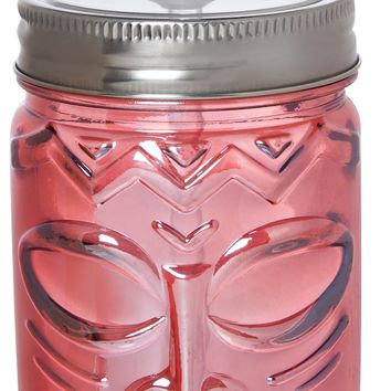 Pink Tiki Drink Sipper