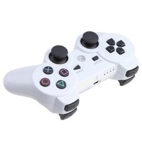 Generic Wireless Controller in White for use with the PlayStation 3