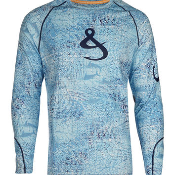 Men's Cayman L/S UV Fishing Shirt