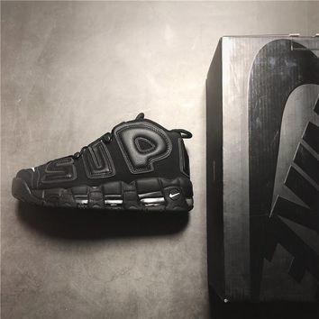 Supreme x Nike Air More Uptempo 902290-001 Sneaker 36--45