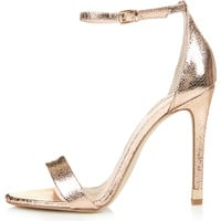 RUBY Metallic High Sandals - View All - Shoes