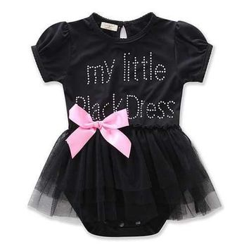 Baby Girls Rompers Mesh Dress