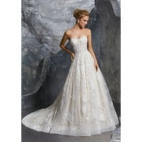 Morilee 8220 Katerina Strapless Ball Gown Wedding Dress