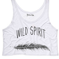 Crop Tank Top - Yotta Kilo