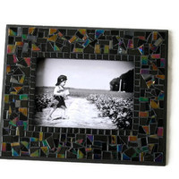 Wall Frame, Black Mosaic