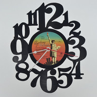 Vinyl Record Album Wall Clock (artist is Supertramp)