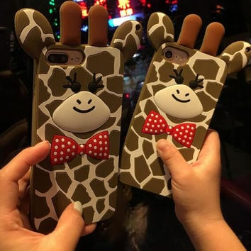 3D Deer Case Cover for iPhone 7 7 Plus & iPhone 5s se + iPhone 6 6s Plus + Gift Box-61