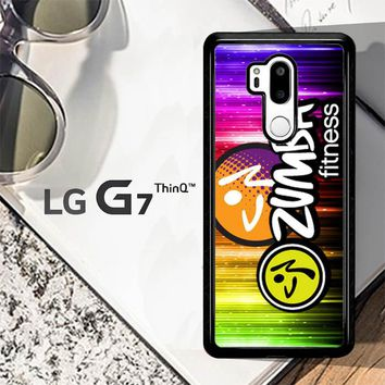 Zumba Fitness Logo R0176 LG G7 ThinQ Case