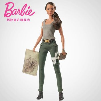 2018 New Barbie Doll Tomb Raider Collection Girl Princess Set Birthday gifts Original Barbie Model Doll Movable joint