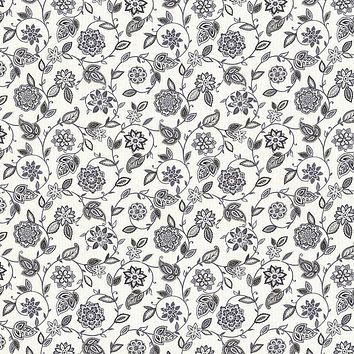 Kasmir Fabric Fox Meadow Licorice