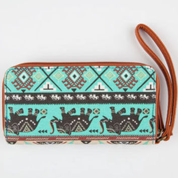 Elephant Print Wallet | Wallets