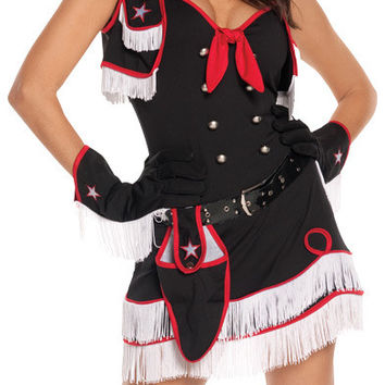 women's costume: cowgirl cutie