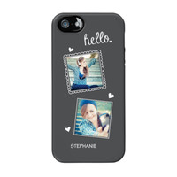 Chalk Portraits Duo iPhone 5/5s ColorStrong Cush-Pro Case - Cherishables