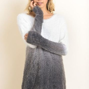 Eve Dip Dye Ombre Sweater