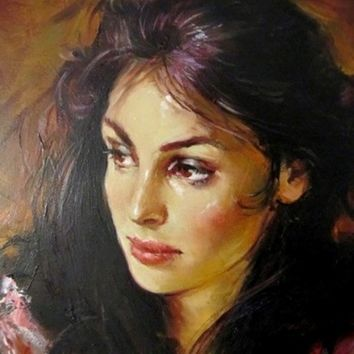 Andrew Atroshenko isabelle [Andrew Atroshenko_A1808] - $99.00 oil painting for sale|Wonderful artwork|Buy it at once.
