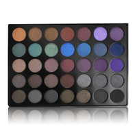 Morphe Brushes 35 Color Dark Smokey Eyeshadow Palette - 35D