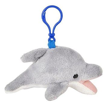 Wildlife Tree Plush Mini Stuffed Animal Backpack Clip Keychain Pack/12 Key Chain