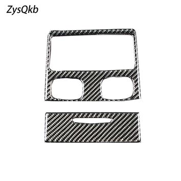 For bmw e90 Interior Carbon Fiber Rear Air Condition Vent Cover Trim Air Outlet Decor Car Styling Stickers 3 Series Accessories