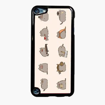 Pusheen The Cat Emoticon FOR IPOD TOUCH 5 CASE *PS*
