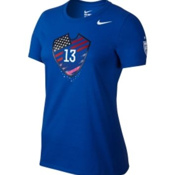 Nike Women's USA Soccer Alex Morgan Hero Blue T-Shirt | DICK'S Sporting Goods