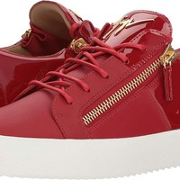 Giuseppe Zanotti Mens May London Nappa/Patent Low Top Sneaker