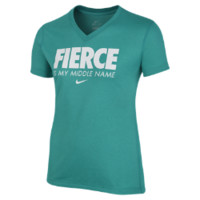"Nike ""Fierce is My Middle Name"" Girls' T-Shirt"