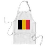 Apron with Flag of Belgium