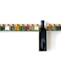 One Line Spice Rack by Desu Design