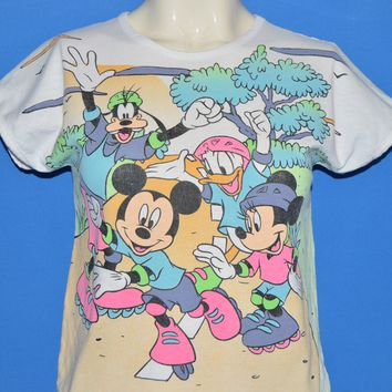90s Mickey Minnie Mouse Disney t-shirt Youth Medium