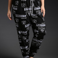 NFL Oakland Raiders Football Sleep Pants
