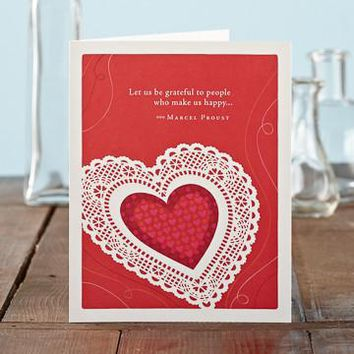 Let Us Be, A Positively Green Love and Valentine's Day Card