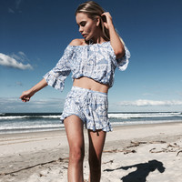 Boho Babe Frill Shorts by Gypsy Mermaid