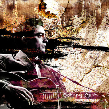 Johnny Cash Art
