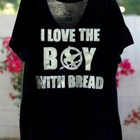 I love the boy with bread | Peeta | Hunger Games