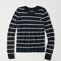 Womens Icon Crewneck Sweater | Womens Tops | Abercrombie.com