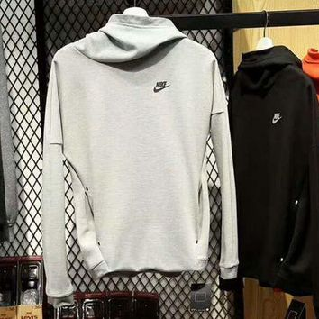 DCCKB62 Nike Fashion Casual Long Sleeve Sweater Pullover Hoodie Sweatshirt G-A-HRWM