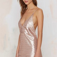 Motel Ringo Finn Sequin Dress