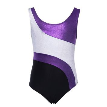 Toddler Girls Costumes Sleeveless Leotards Dance Dress Ballet Tutu Gymnastics Leotard Acrobatics Girls Kid Dancewear Dresses