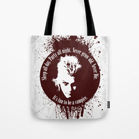 Lost Boys Tote Bag by Fimbis