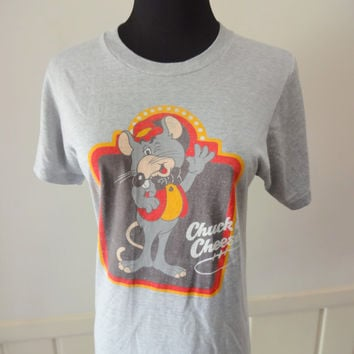 Vintage Chuck E. Cheese T-Shirt 1981